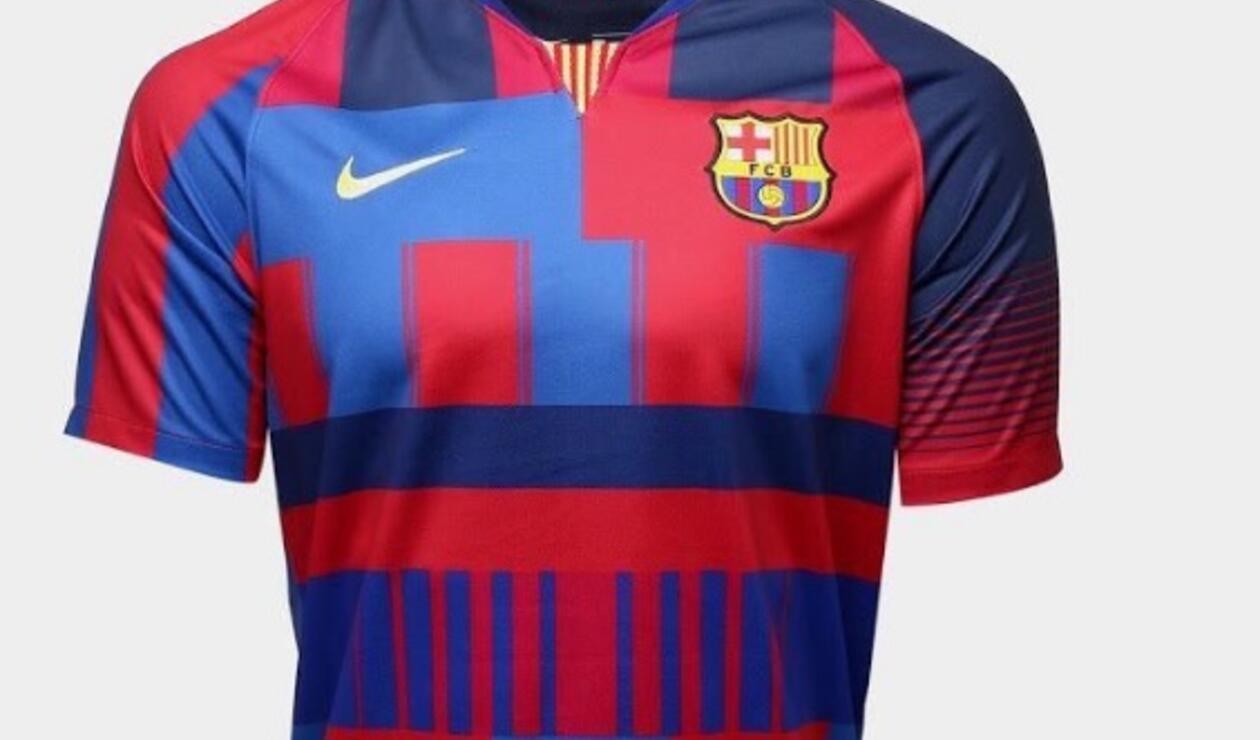 Nike confirmó la nueva camiseta del Barcelona edición especial para  coleccionistas 080d63068e0