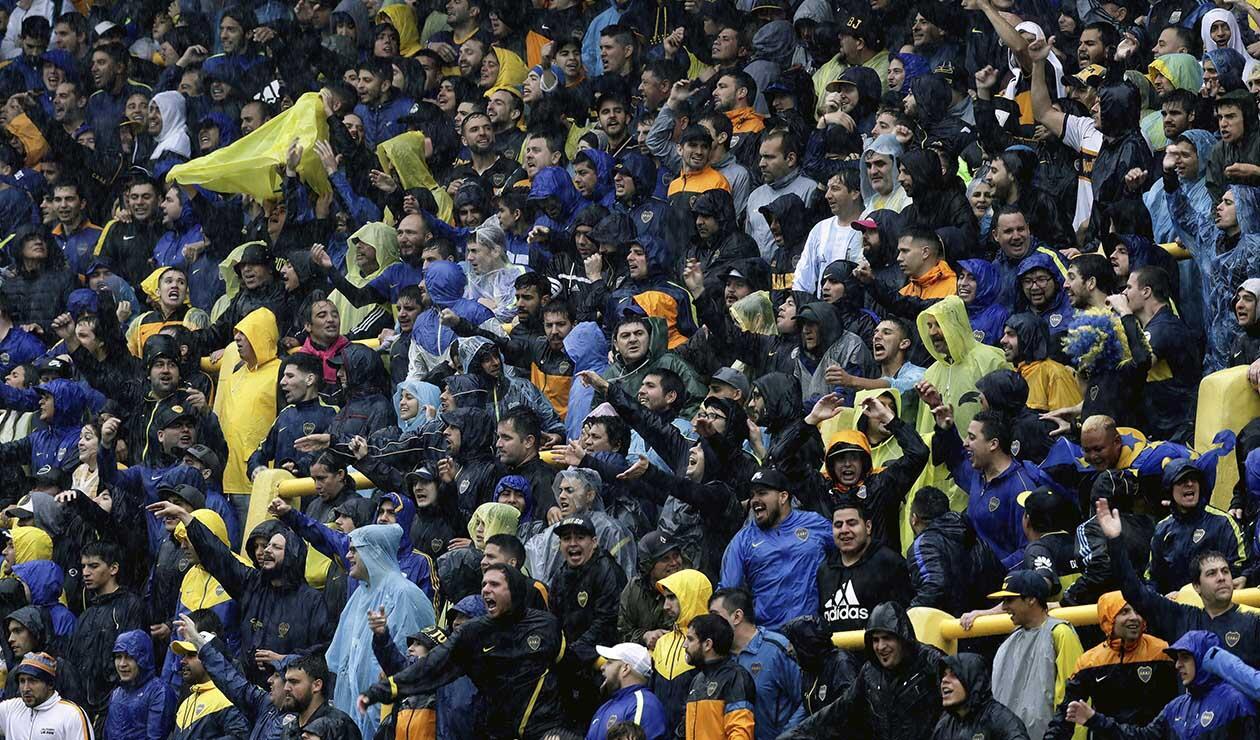 Boca Juniors vs River Plate - hinchas de Boca