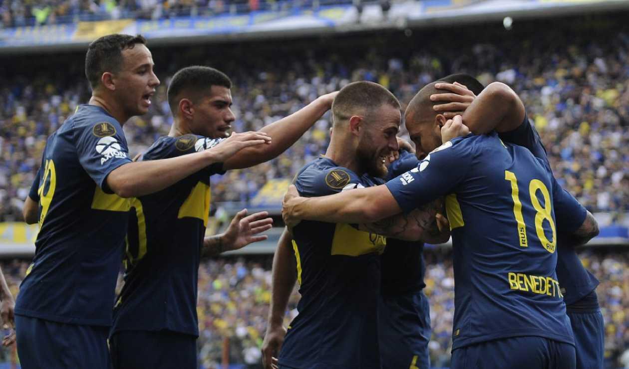 Jugadores Boca Juniors