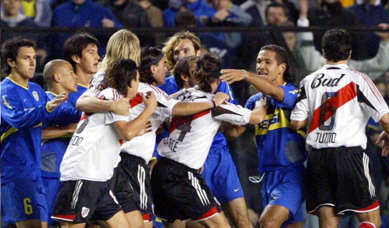River - Boca en las semifinales de 2004