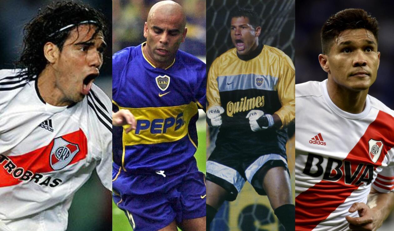 Falcao, Chicho, Córdoba y Teo Gutiérrez
