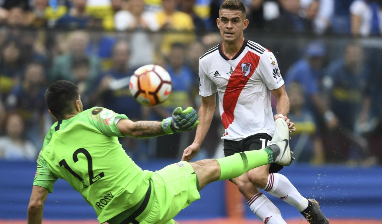 Rafael Santos Borré - Boca vs River