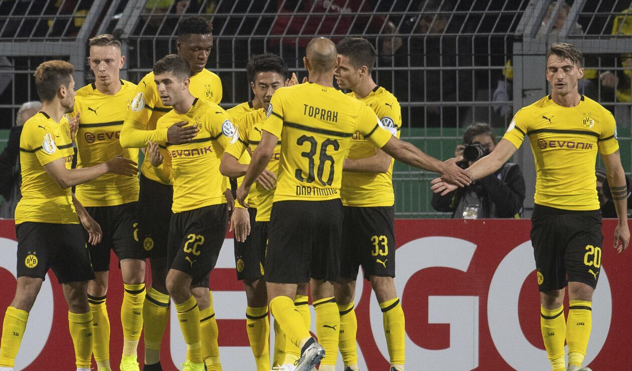 Jugadores de Borussia Dortmund