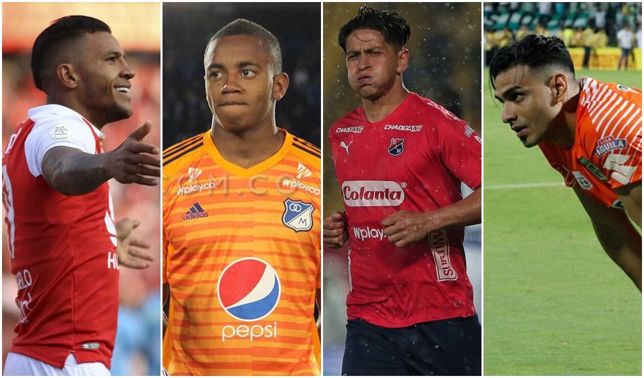 Los cinco jugadores más caros del fútbol colombiano