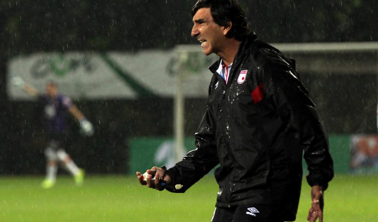 Gustavo Costas, ex técnico de Santa Fe