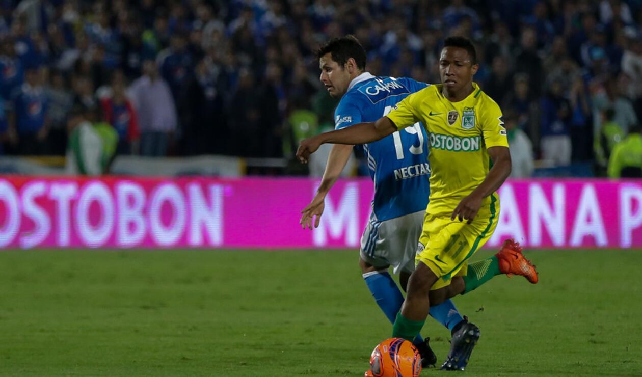 Andrés Ibargüen, exjugador de Atlético Nacional