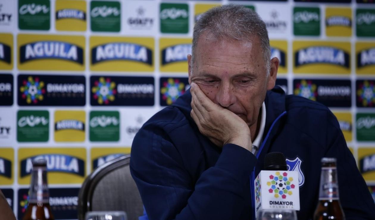 Miguel Russo, técnico de Millonarios