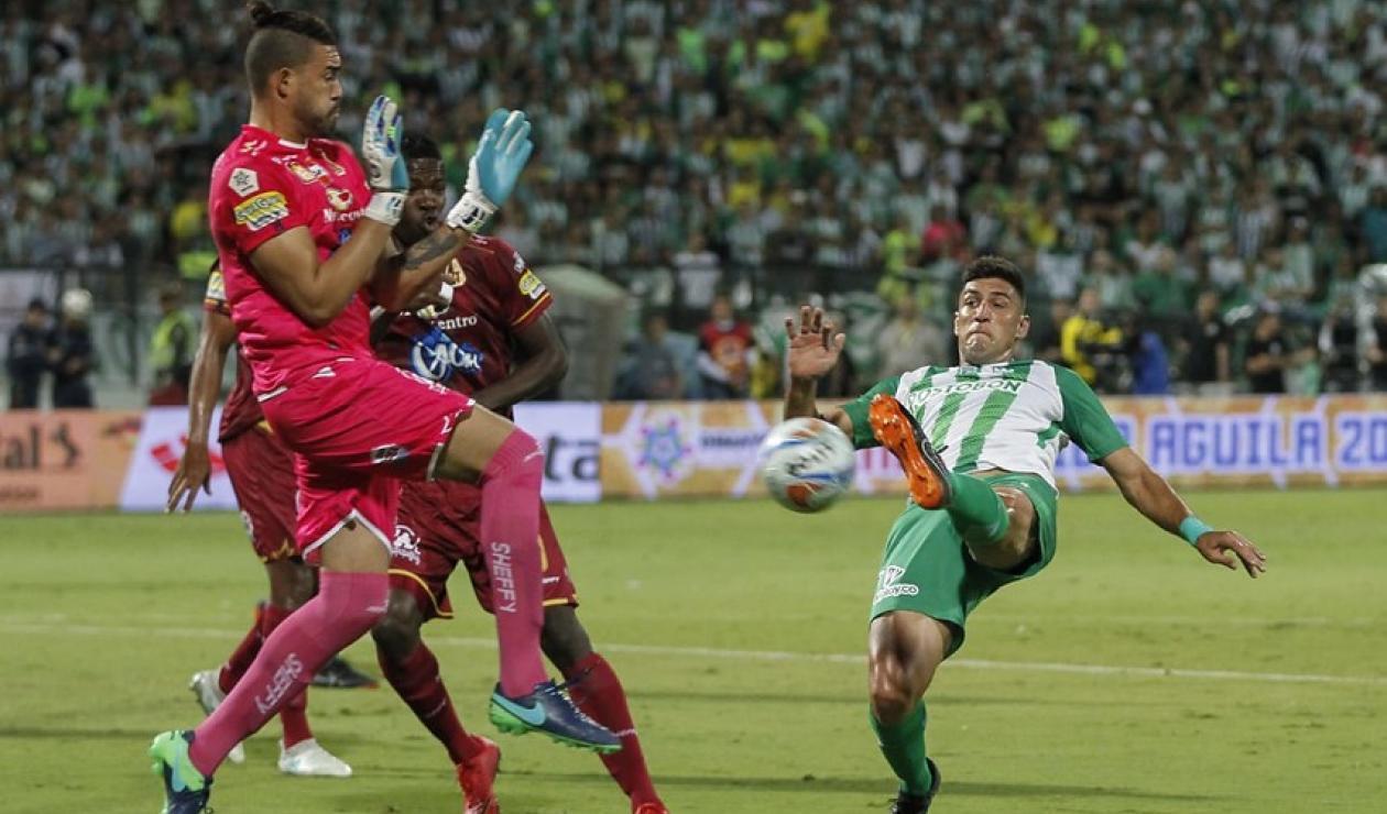 Atlético Nacional vs Deportes Tolima - Final Liga Águila 2018 I