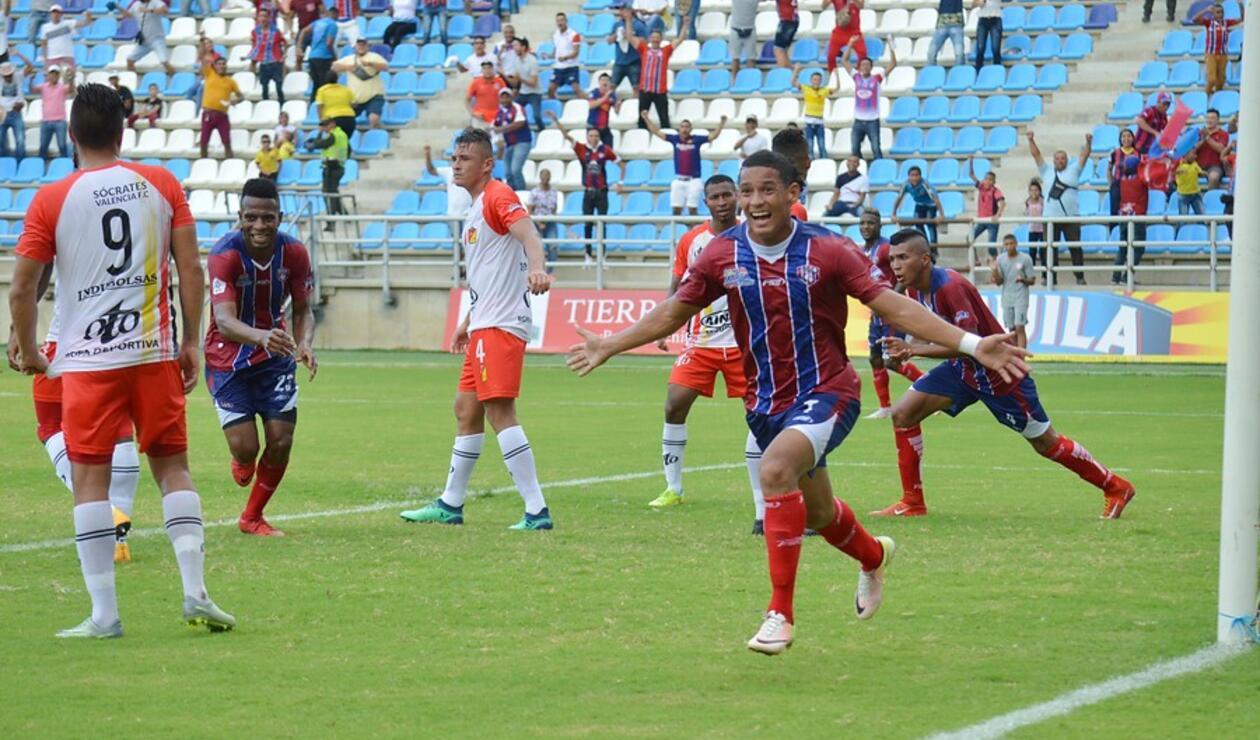 Ricardo Márquez, delantero del Unión Magdalena