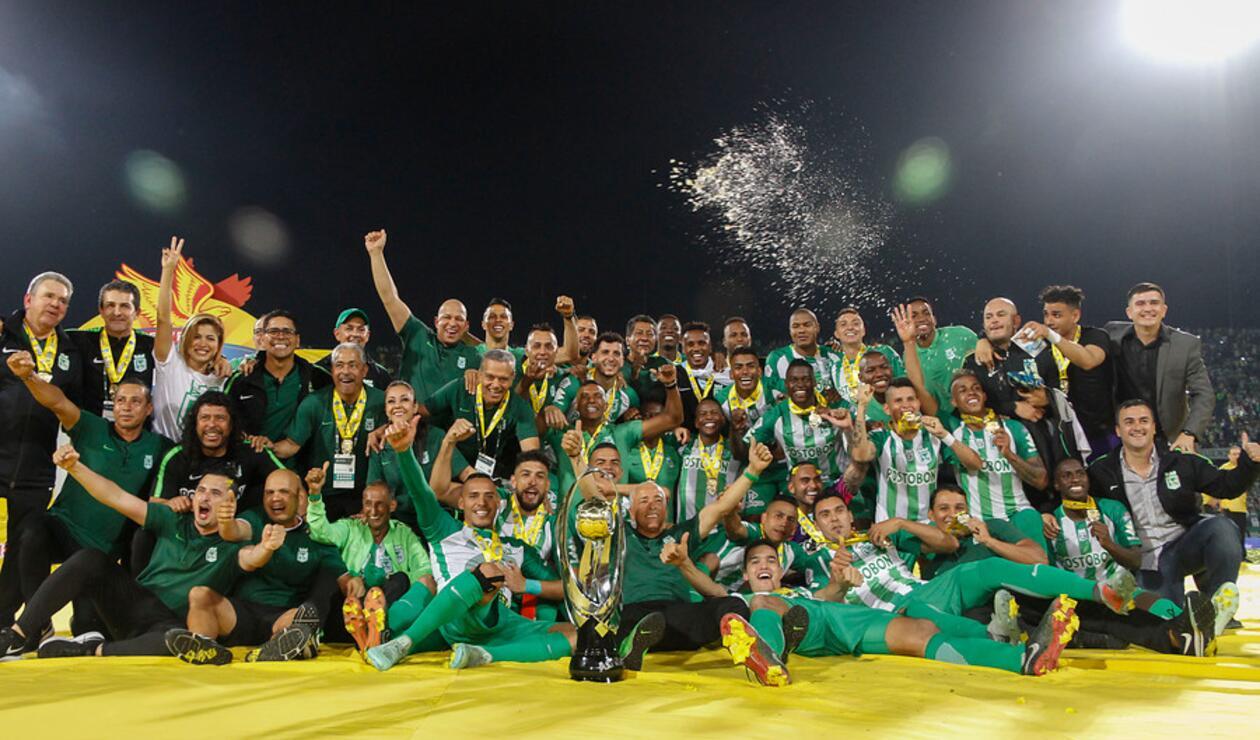 Atlético Nacional campeón de la Copa Águila 2018