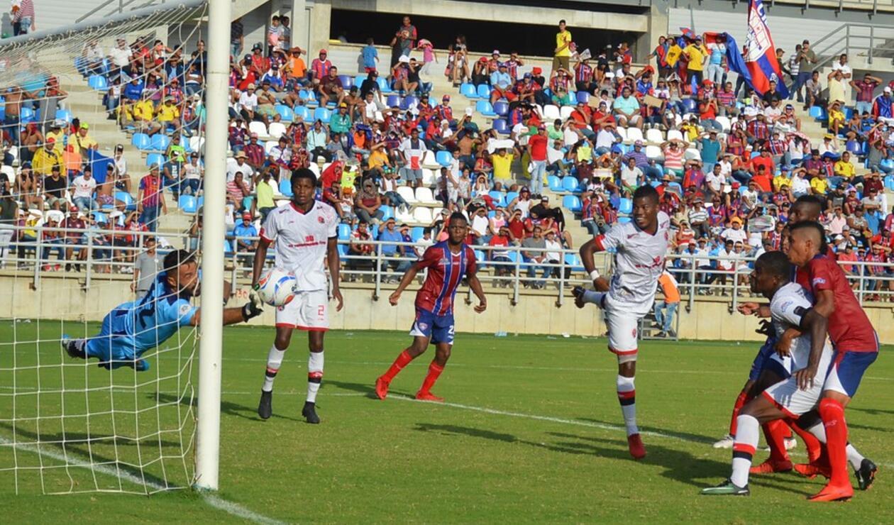 Unión Magdalena vs Cúcuta Deportivo - Torneo Águila 2018