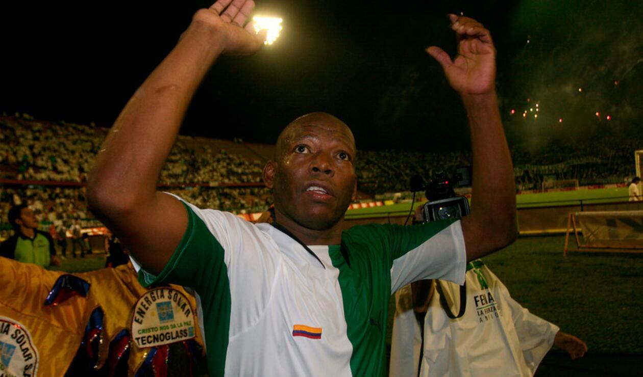 Faustino Asprilla, exjugador colombiano