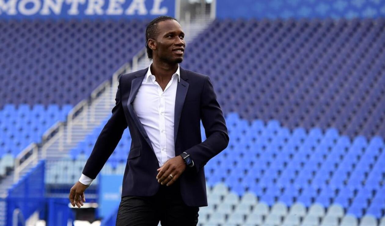 Didier Drogba, exfutbolista marfileño