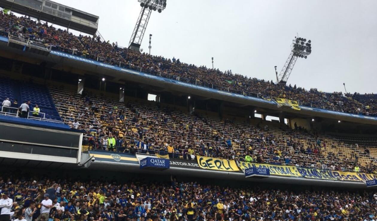Así fue el entrenamiento en el estadio de La Bombonera, previo a final de la Copa Libertadores