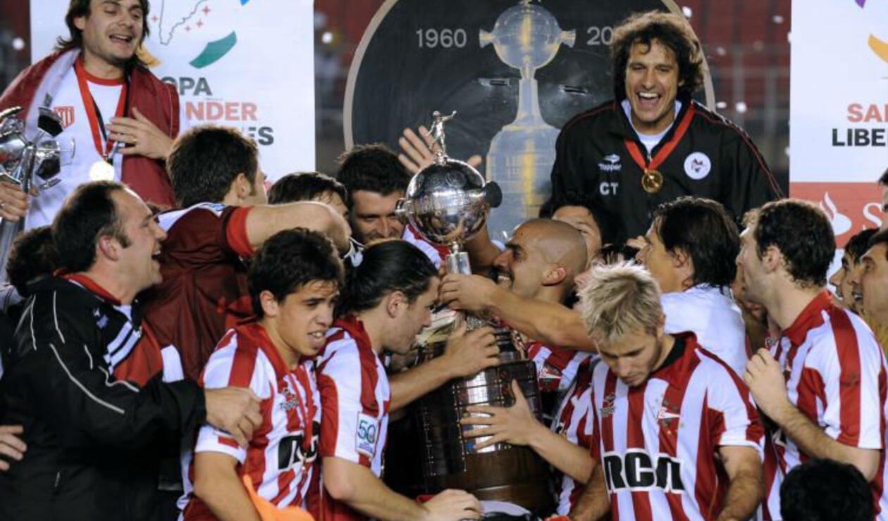 Estudiantes de La Plata (Argentina), campeón de la Copa Libertadores 2009.