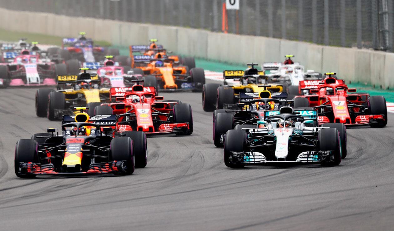 Gran Premio de México 2018 donde se coronó campeón el británico Lewis Hamilton