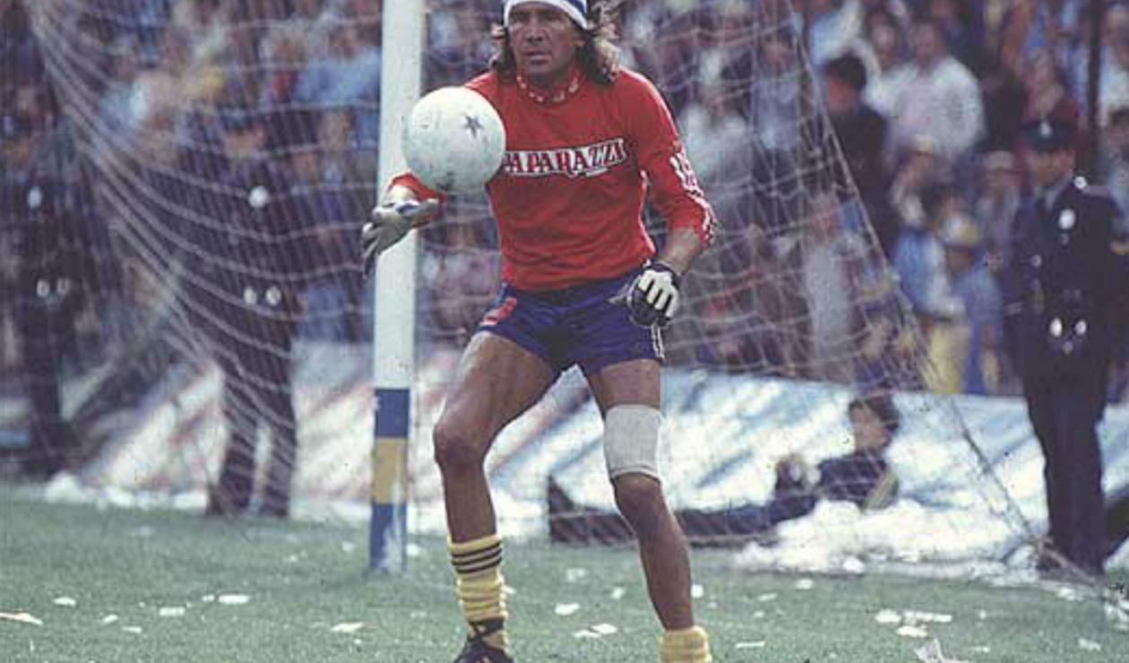 10. Hugo Gatti. Jugó más de 400 partidos entre 1976 y 1988. Alcanzó seis títulos, entre ellos dos Copas Libertadores (1977-1978) y una Copa Intercontinental (en 1977, al Borussia Mönchengladbach).