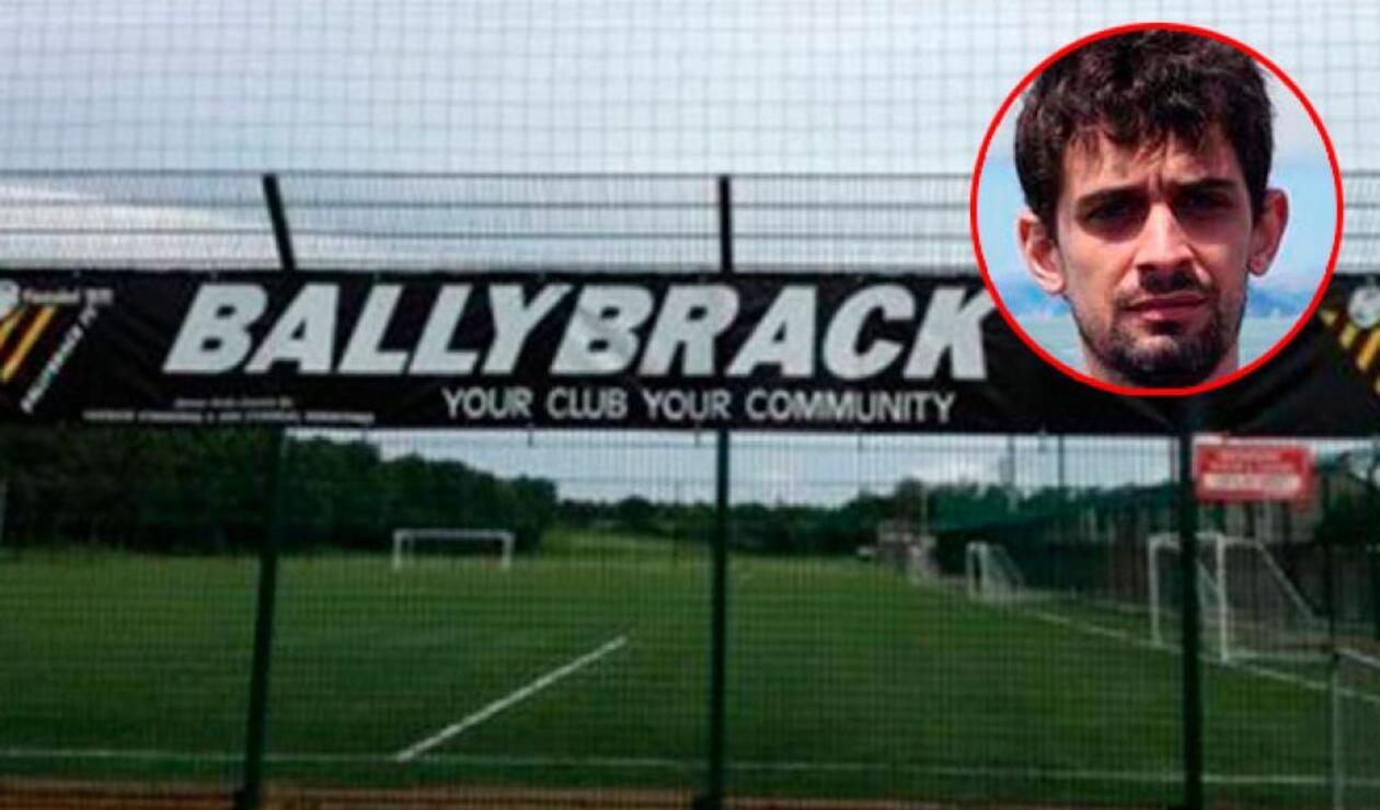 Equipo de fútbol aficionado irlandés finge la muerte de un exjugador español