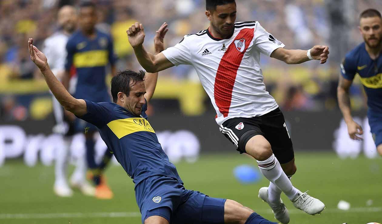 Izquierdoz marcó autogol a favor de River Plate