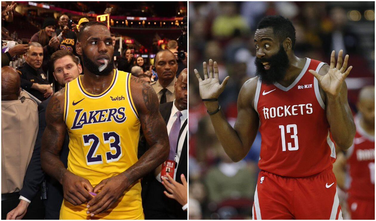 LeBron James y James Harden