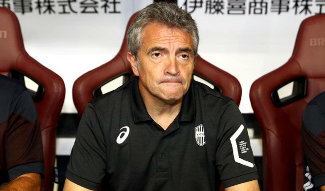 Juan Manuel Lillo, técnico del Vissel Kobe de Japón