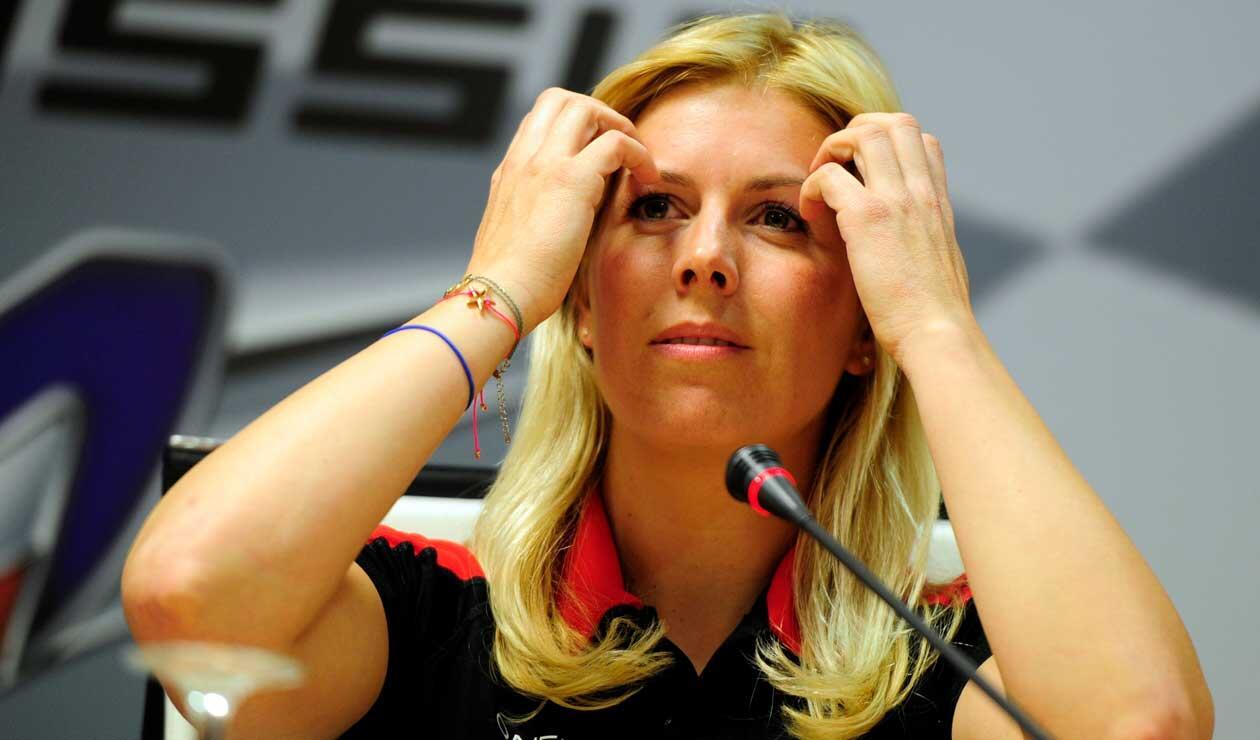 Maria De Villota, piloto de Marussia