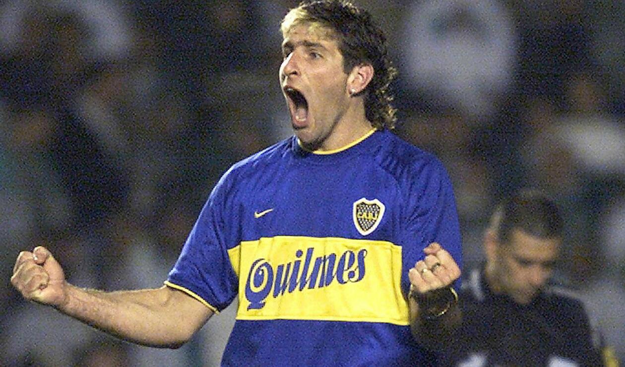 2. Martín Palermo. Es el máximo goleador de la historia de Boca con 236 goles en 404 partidos. El delantero marcó una era y será un ídolo xeneize eternamente. Alcanzó catorce títulos, entre los que se destacan dos Libertadores (2000 y 2007) y una Intercontinental (2000).
