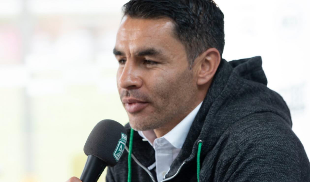 Francisco Nájera, director deportivo de Atlético Nacional