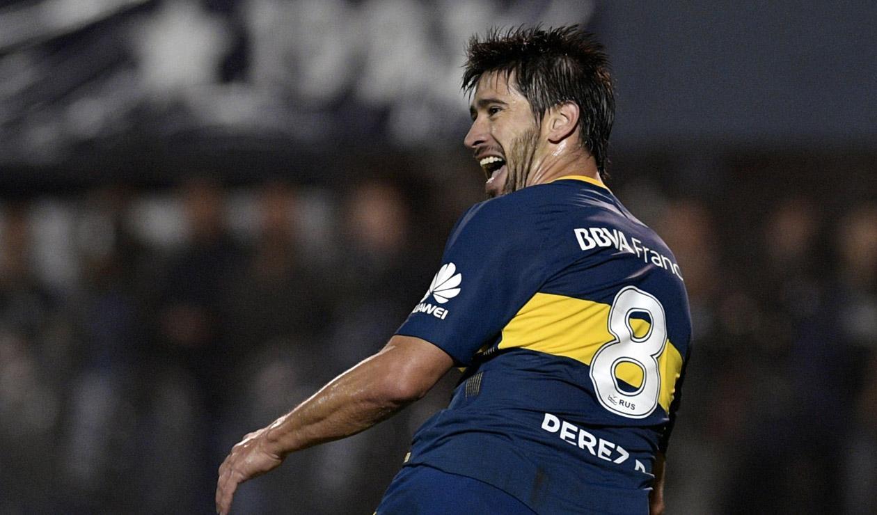 Pablo Pérez habló tras la clasificación a la final de la Copa Libertadores