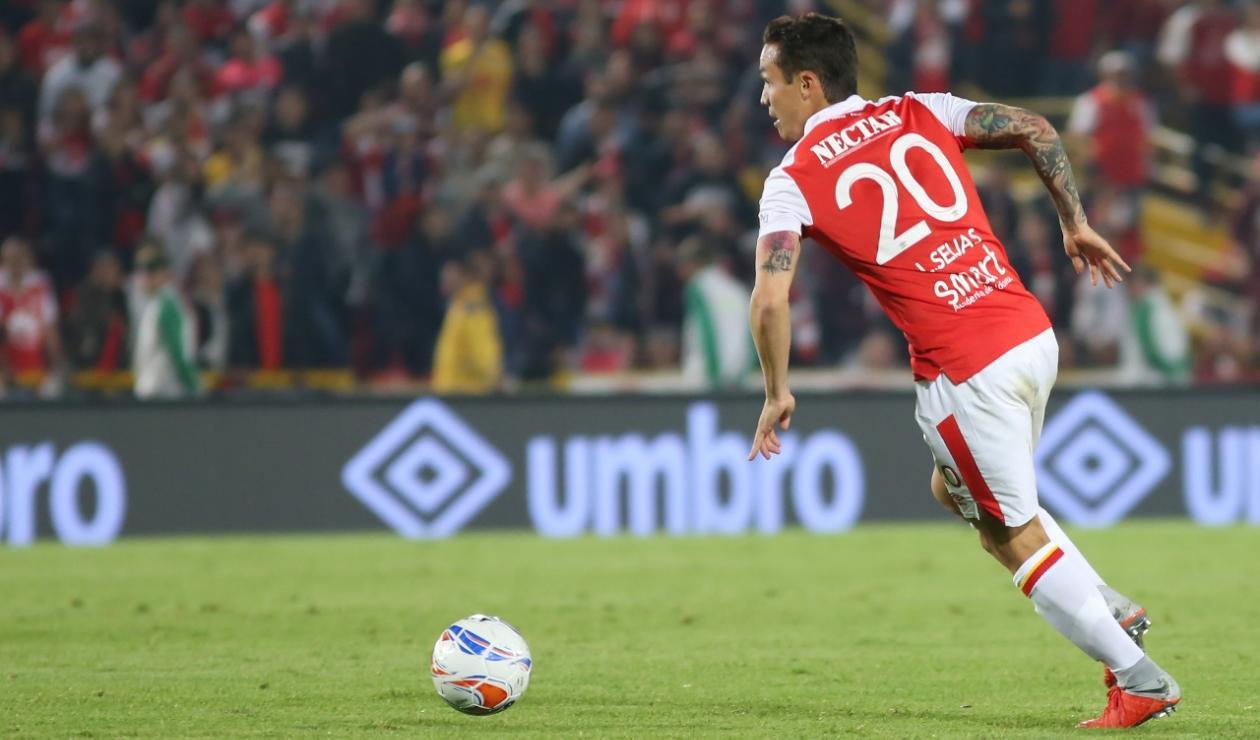 Luis Manuel Seijas- Jugador de Independiente Santa Fe