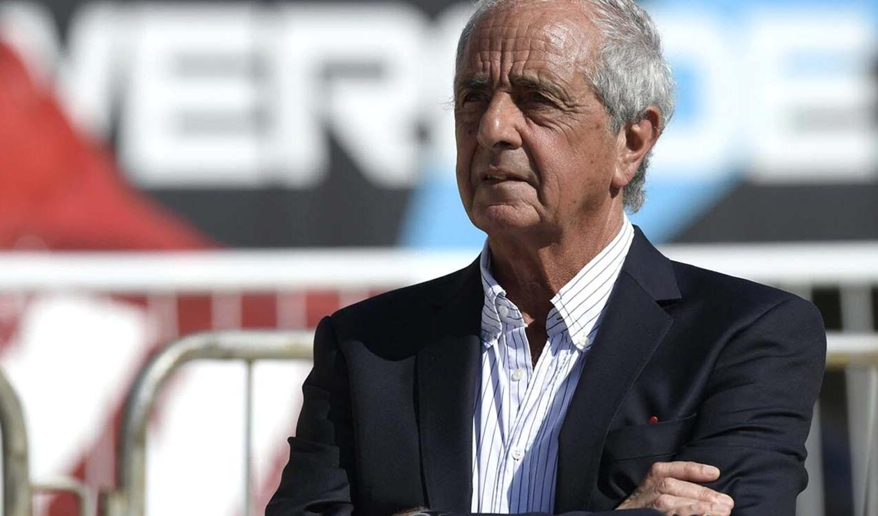 Rodolfo D'Onofrio, presidente de River Plate