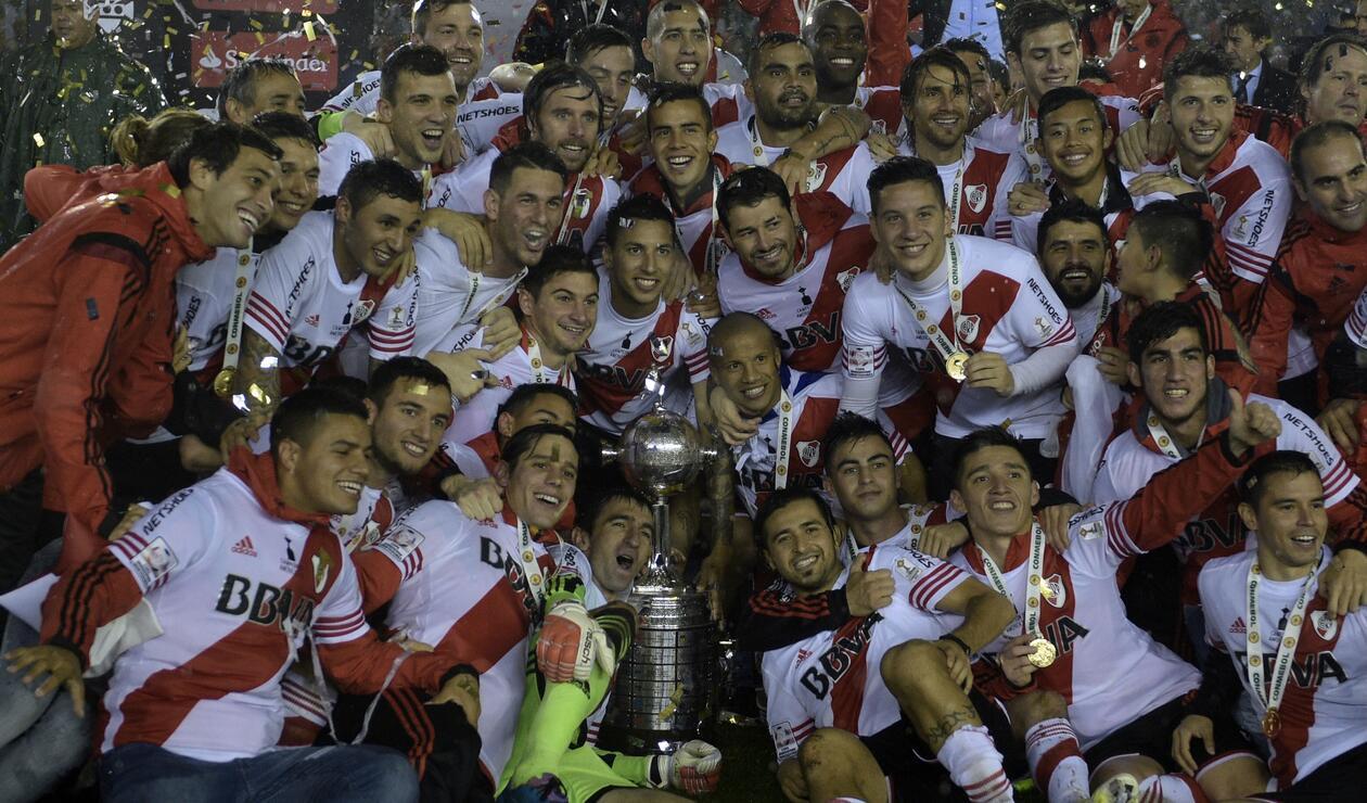 River Plate (Argentina), campeón de la Copa Libertadores 2015.