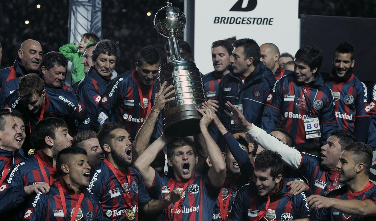 San Lorenzo (Argentina), campeón de la Copa Libertadores 2014.