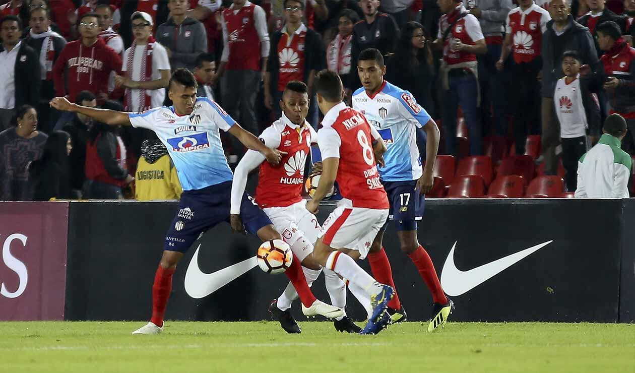 Santa Fe vs Junior de Barranquilla - Copa Sudamericana