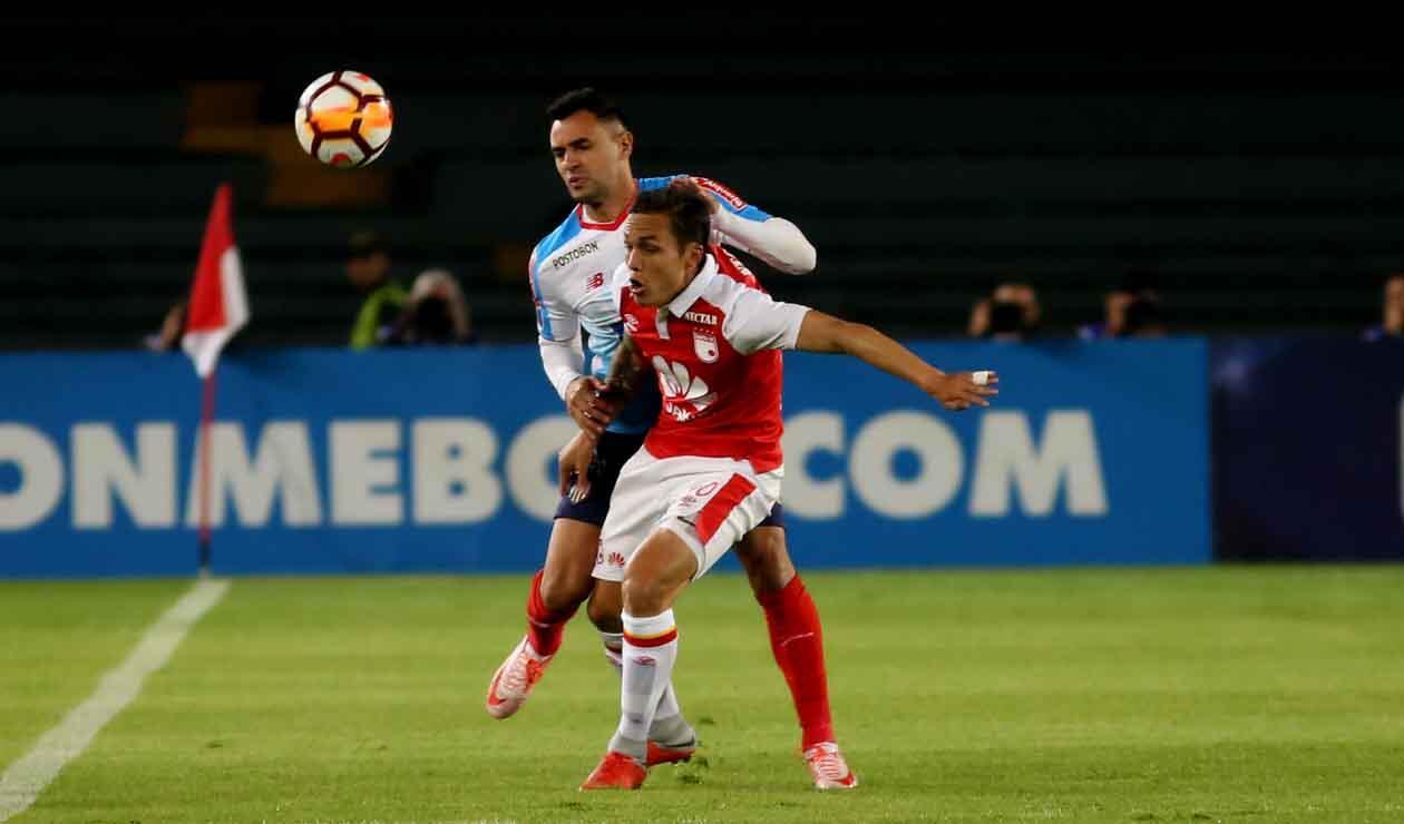 Santa Fe ante el Junior por Copa Sudamericana