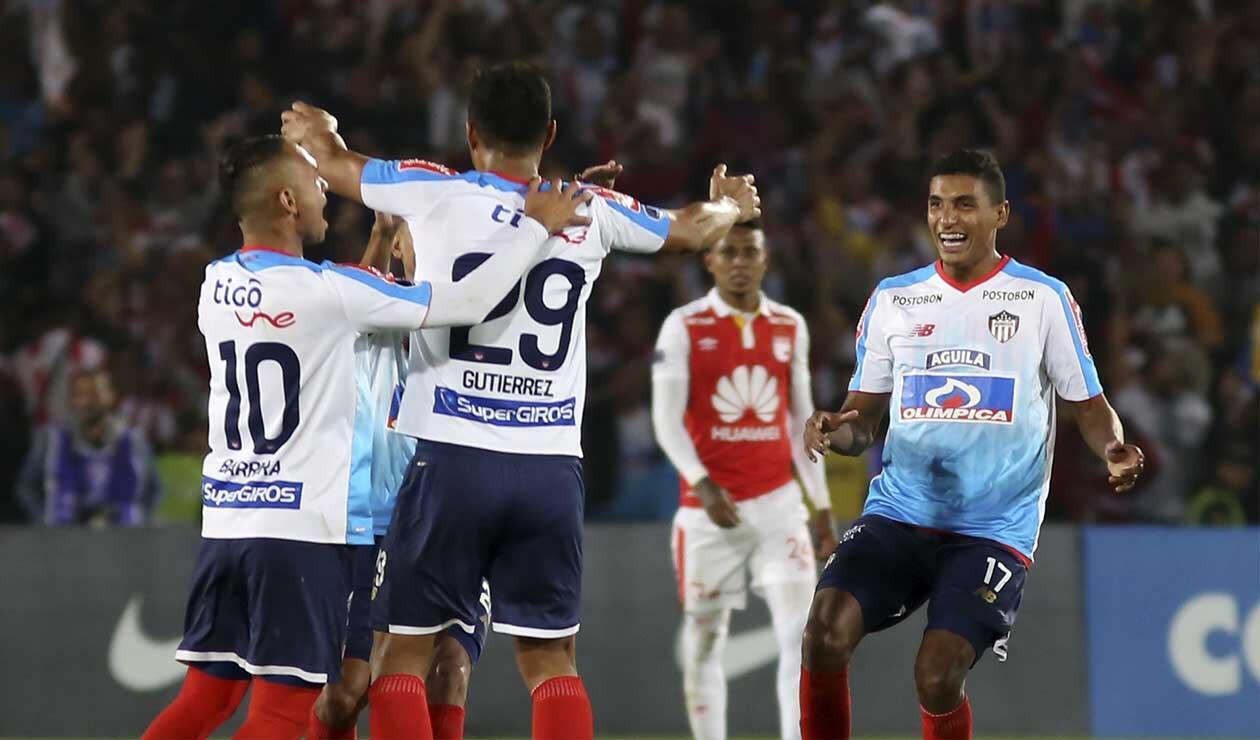 Independiente Santa Fe perdió ante Junior
