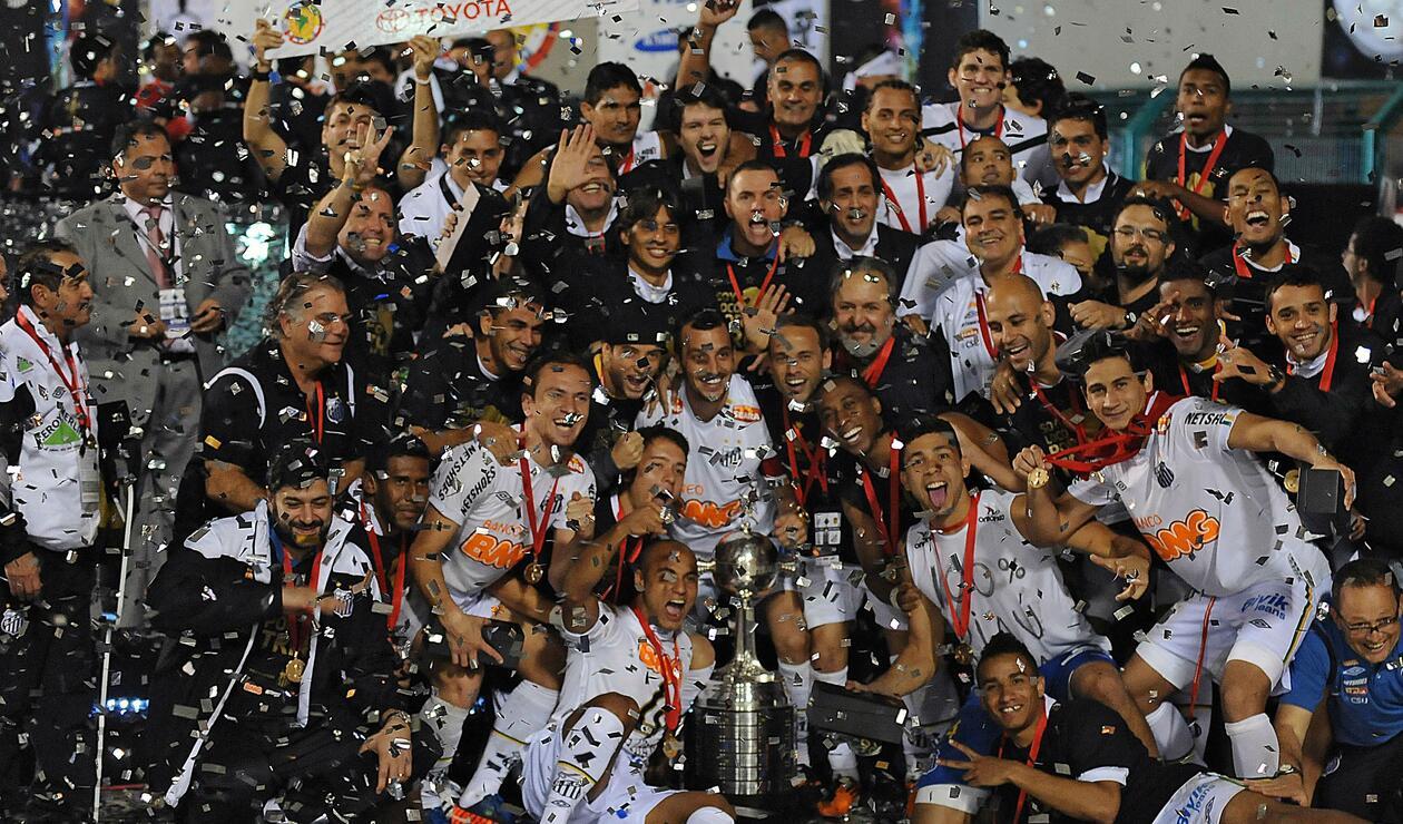 Santos (Brasil), campeón de la Copa Libertadores 2011.