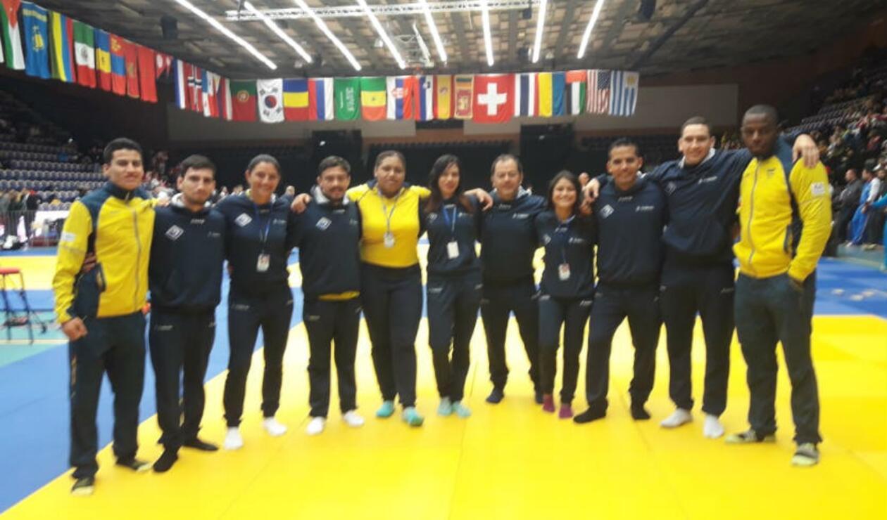 Selección Colombia de Jiujitsu