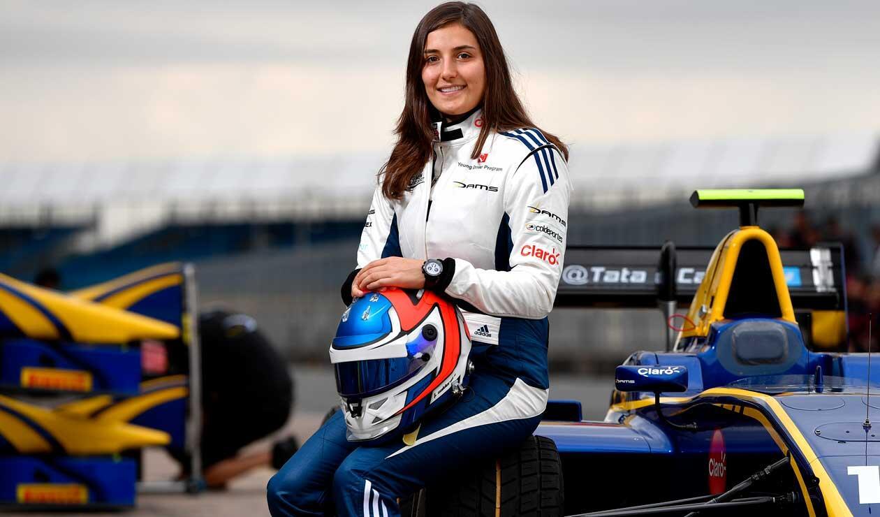 Tatiana Calderón con Sauber