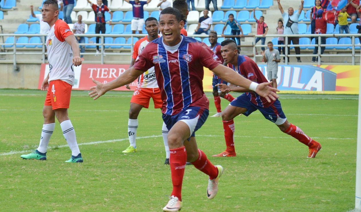 Unión Magdalena venció 2-0 a Valledupar en condición de local