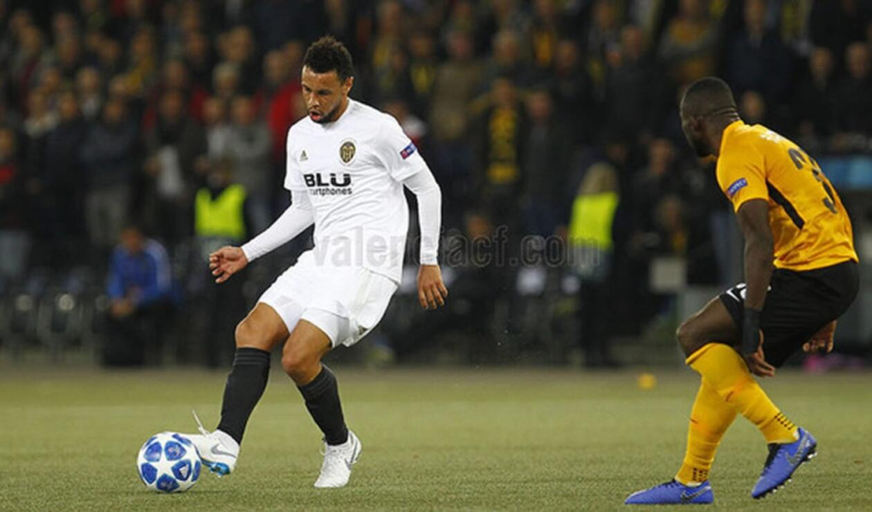 Valencia vs Young Boys, Champions League