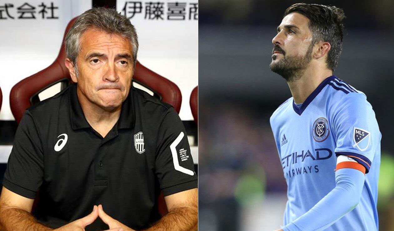 Juan Manuel Lillo y David Villa serán integrantes del Vissel Kobe