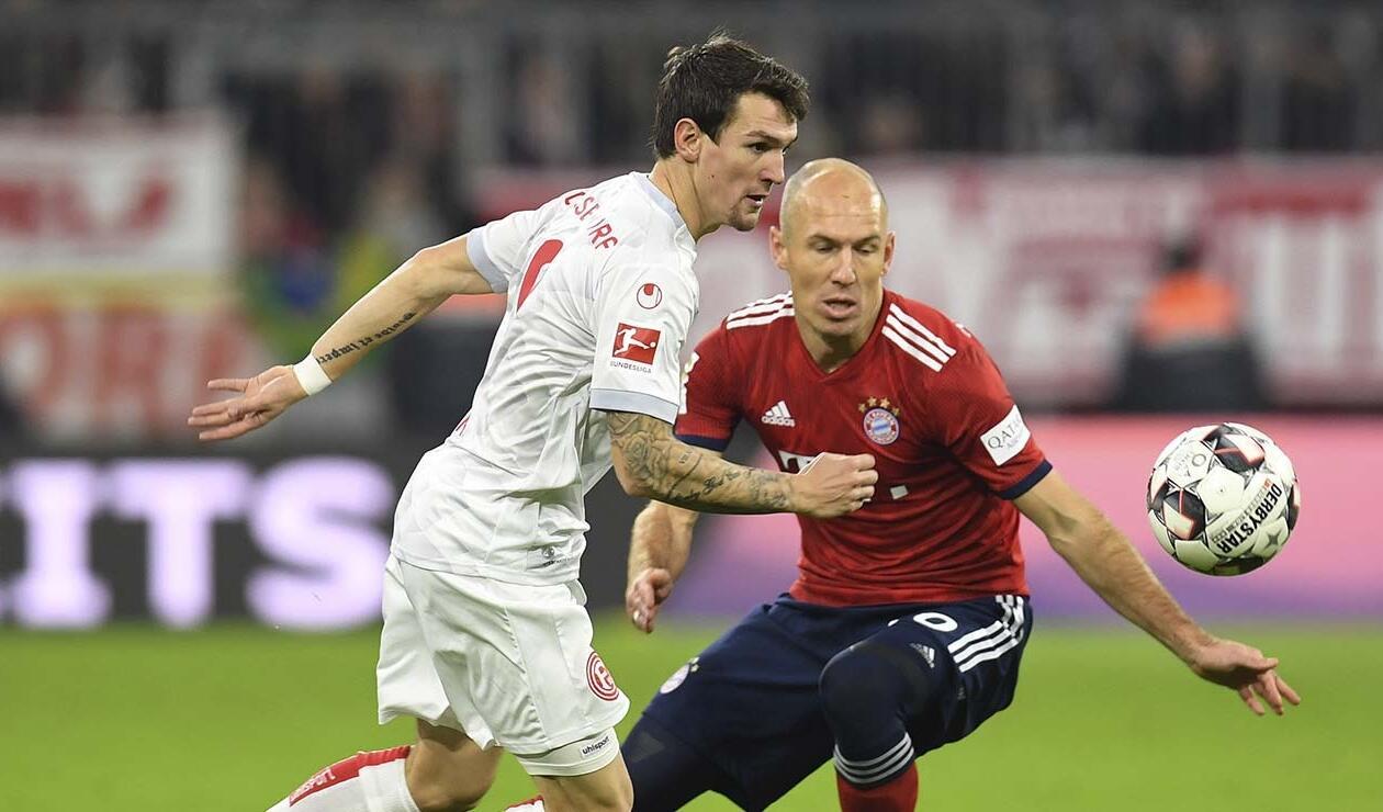 Bayern Münich vs Fortuna Dusseldorf
