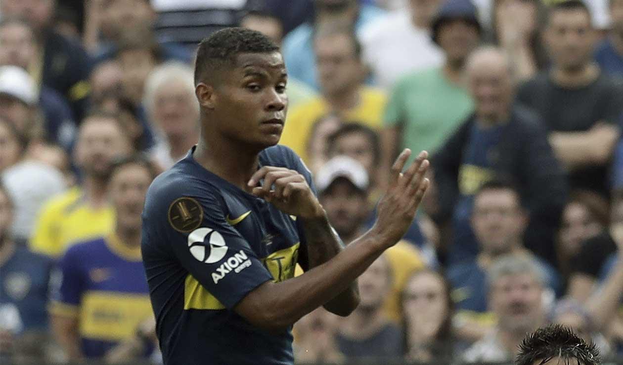Wilmar Barrios, volante de Boca Juniors