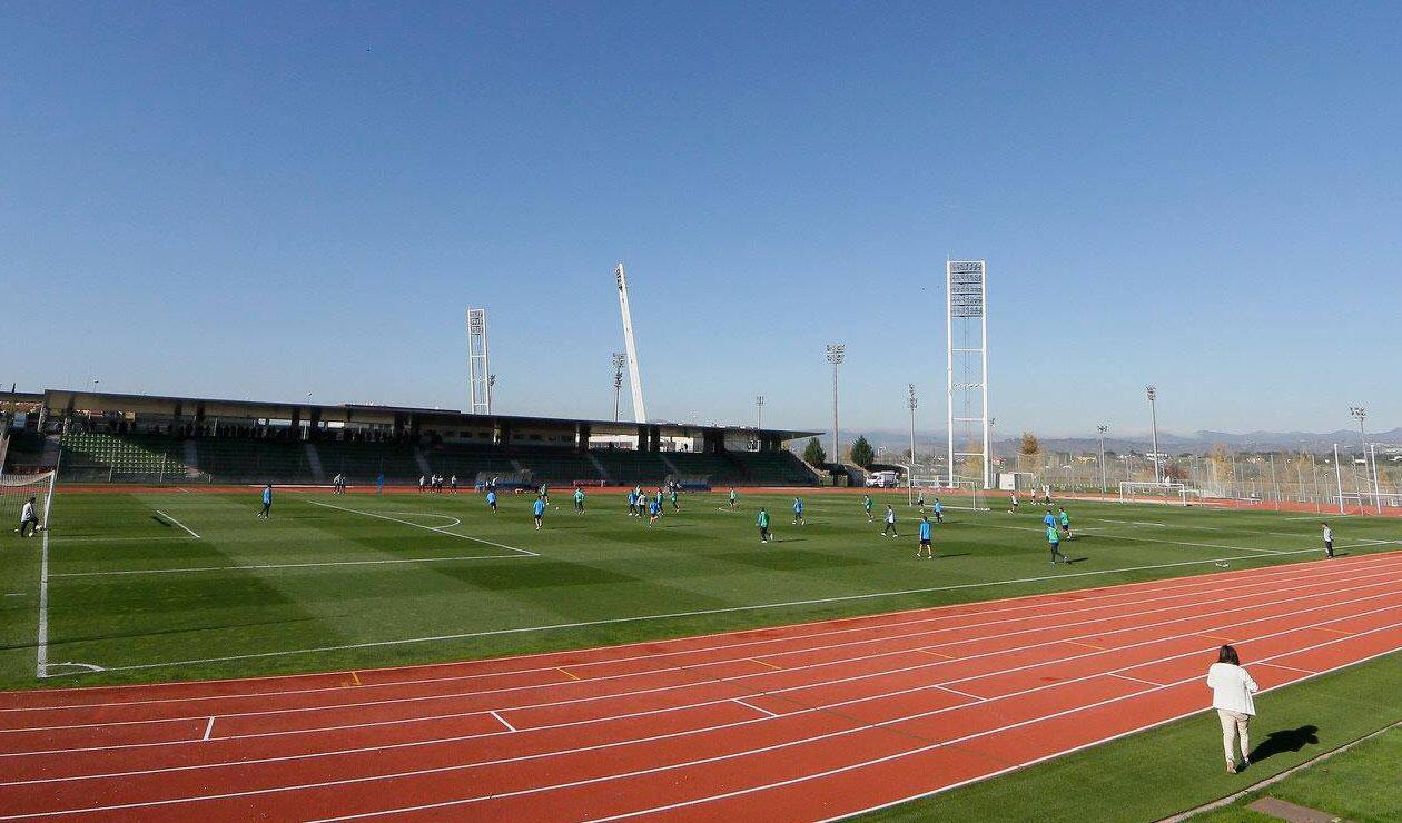 Boca Juniors se entrenó en la Ciudad del Fútbol de la Real Federación Española