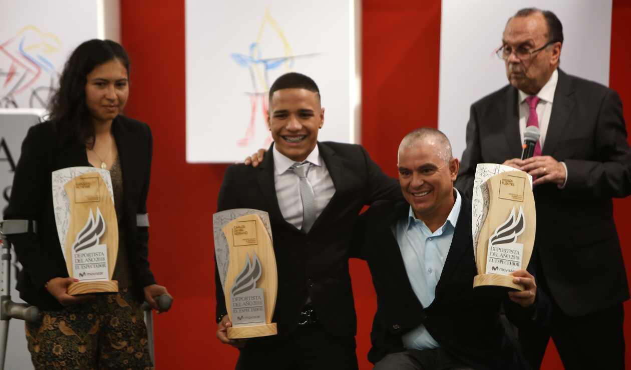 Carolina Munévar, Carlos Daniel Serrano y Moisés Fuentes