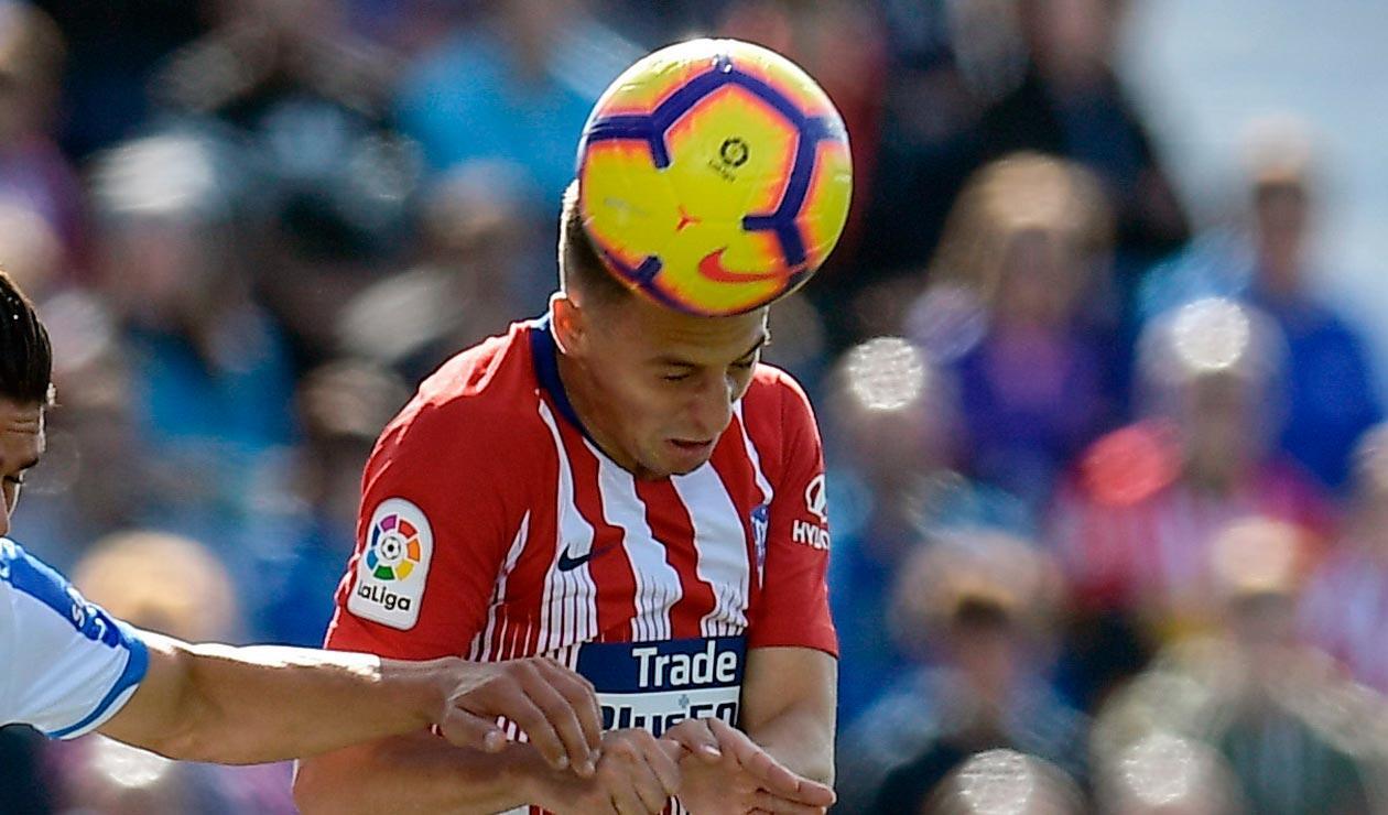 Santiago Arias suma doce partidos como titular con el Atlético de Madrid