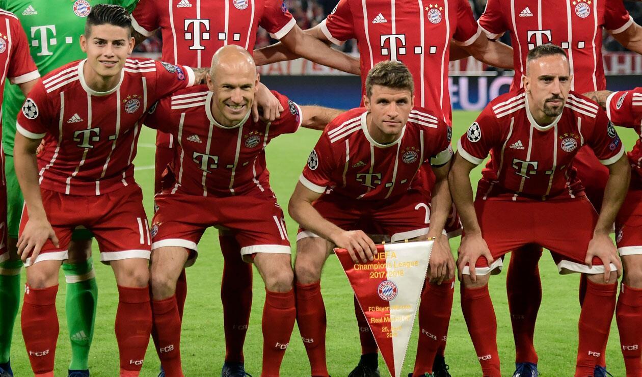 Bayern Munich pondrá fin al ciclo de Arjen Robben y Frank Ribery