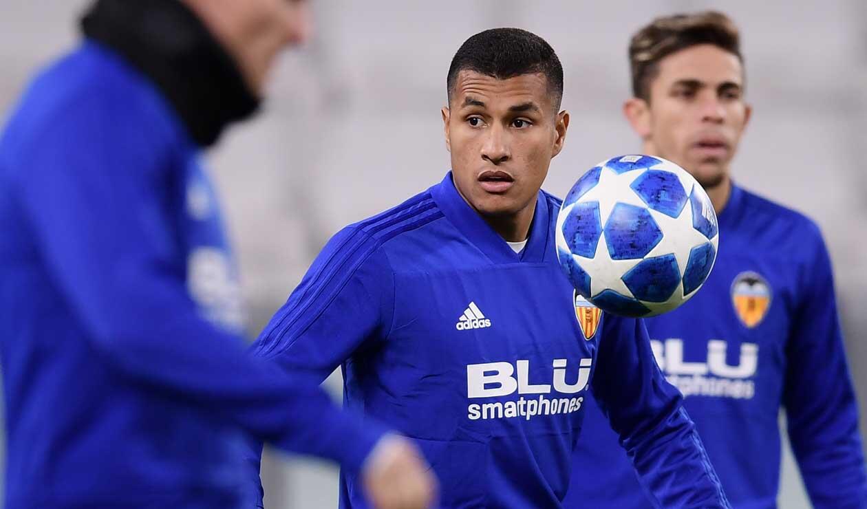 Jeison Murillo, jugador del Valencia