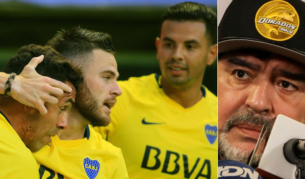 Maradona quiere pescar en Boca Juniors a su próximo gran refuerzo